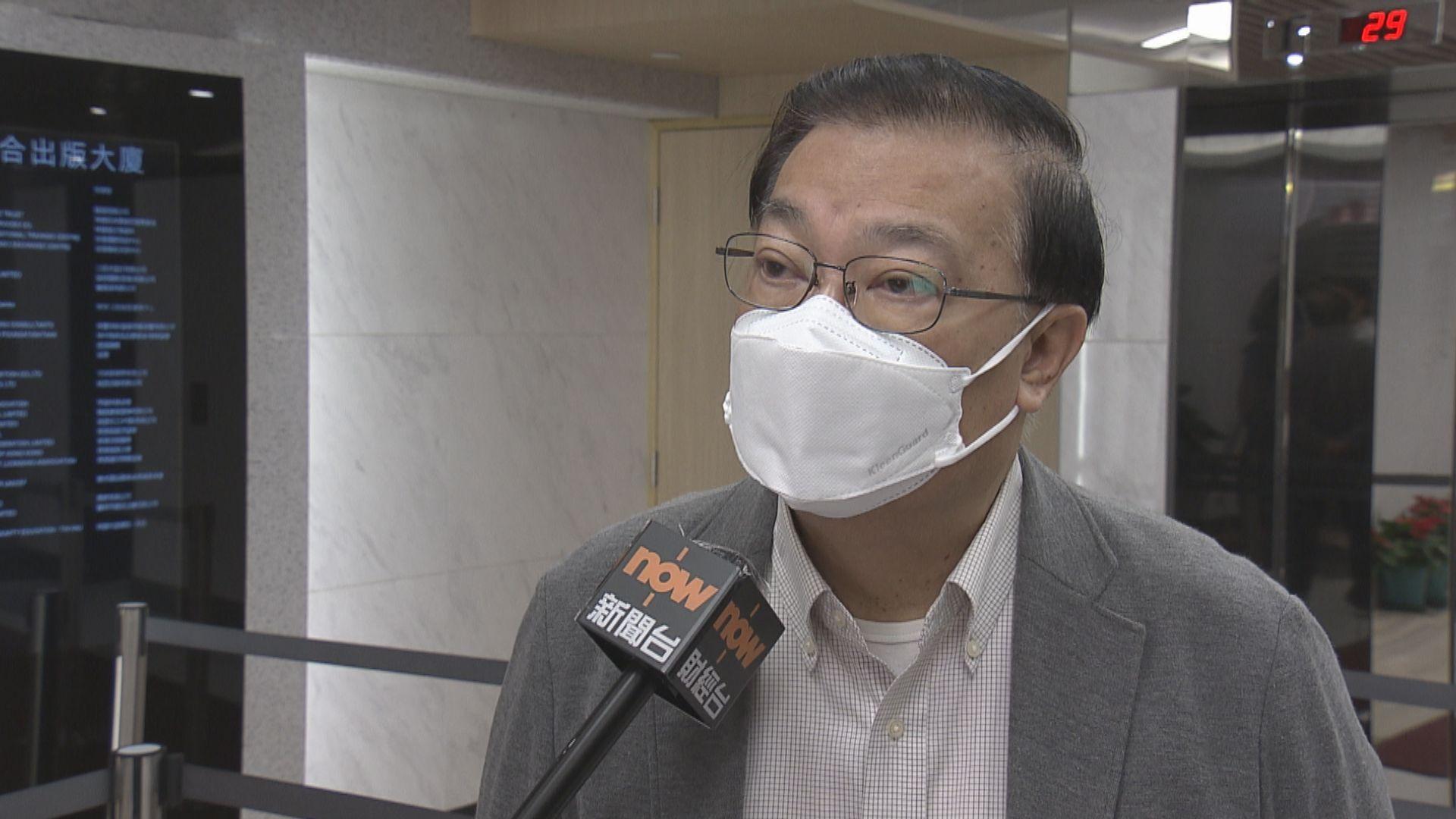 譚耀宗:早前參選提名無效議員能否留任交由港府處理