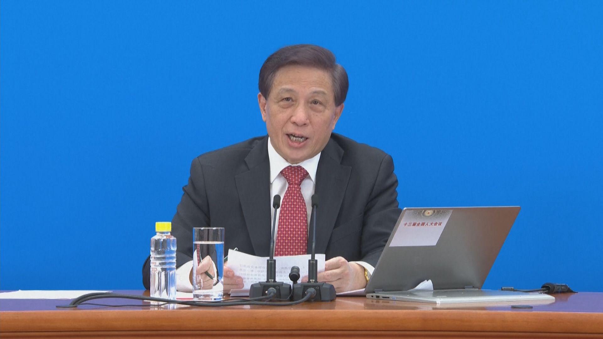 全國人大會議發言人:近年香港選舉制度有需要完善