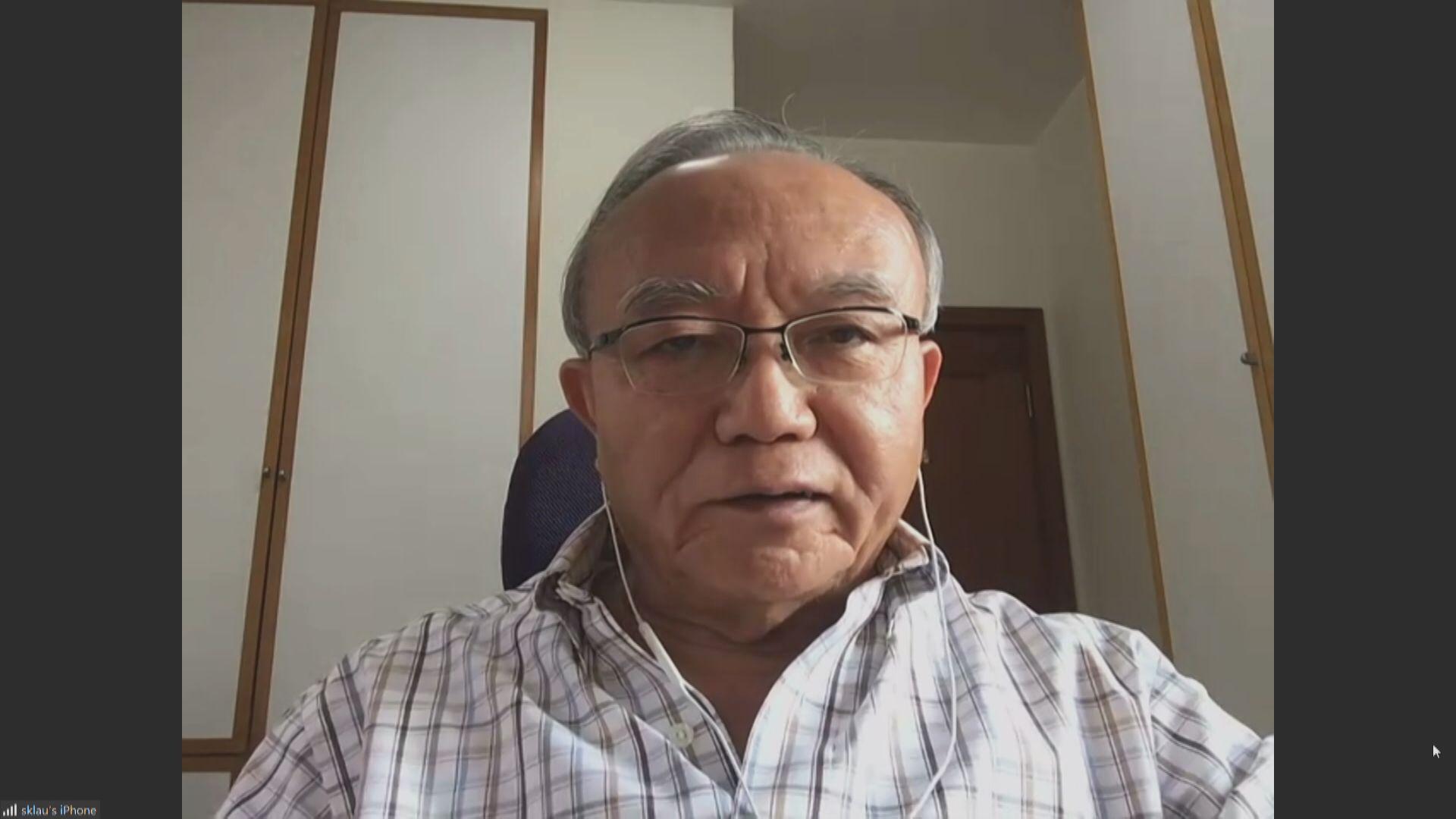劉兆佳:韓正講話表明中央是香港未來發展的靠山