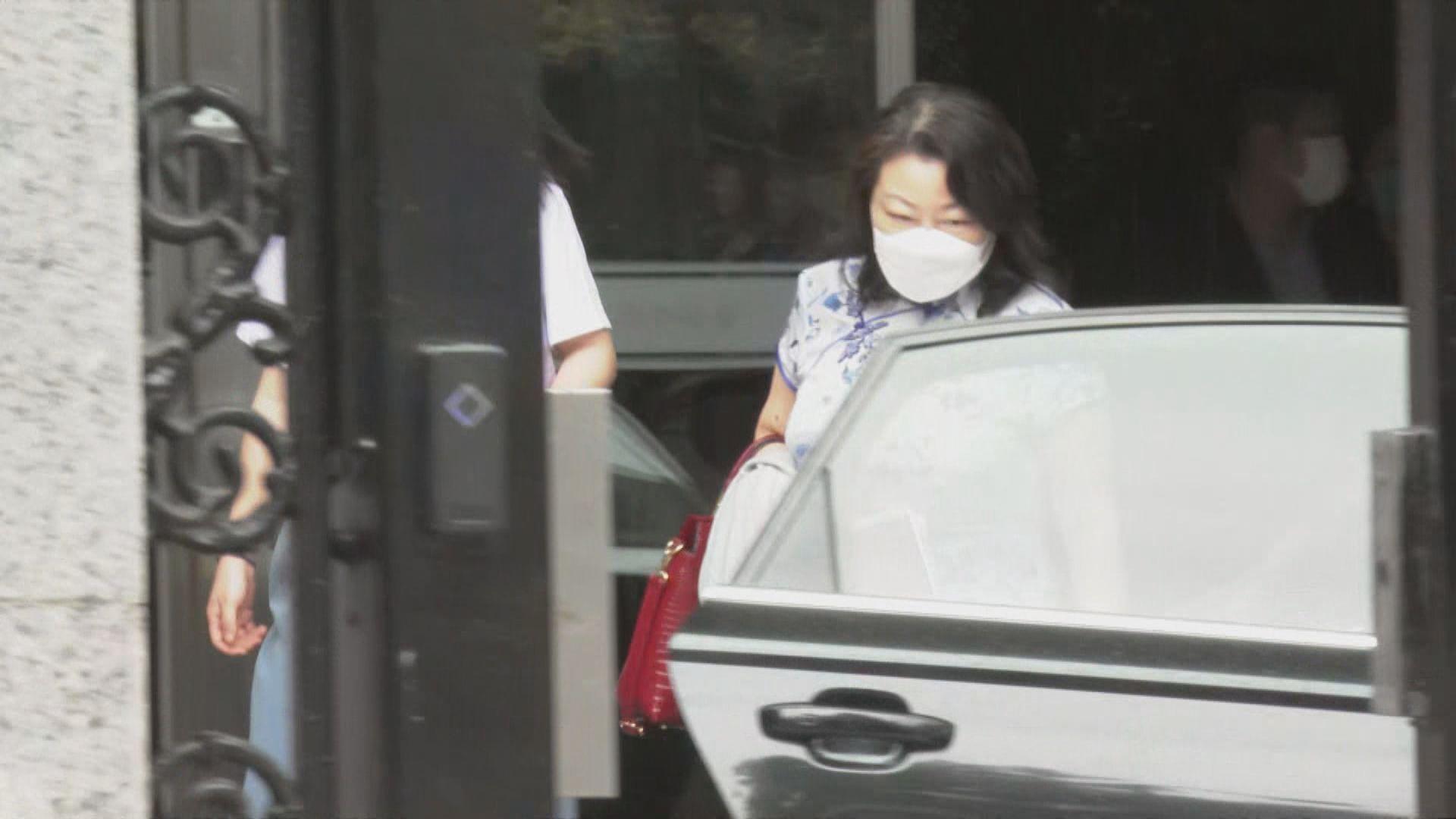 律政司司長鄭若驊到訪最高人民法院及檢察院