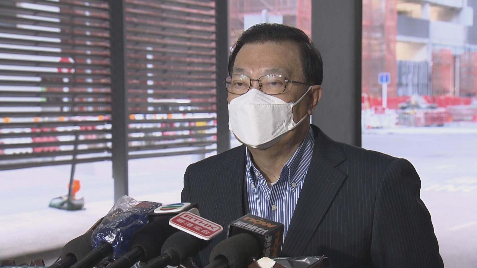 譚耀宗赴京開人大常委會 稱暫未有香港議程