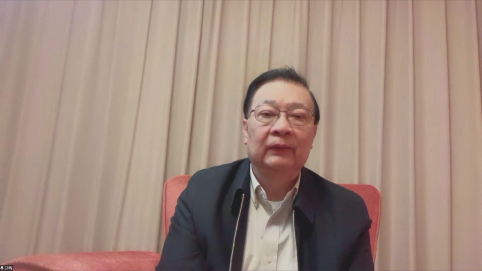 選委會提名及選舉立法會議員 譚耀宗:助議員取態更接近