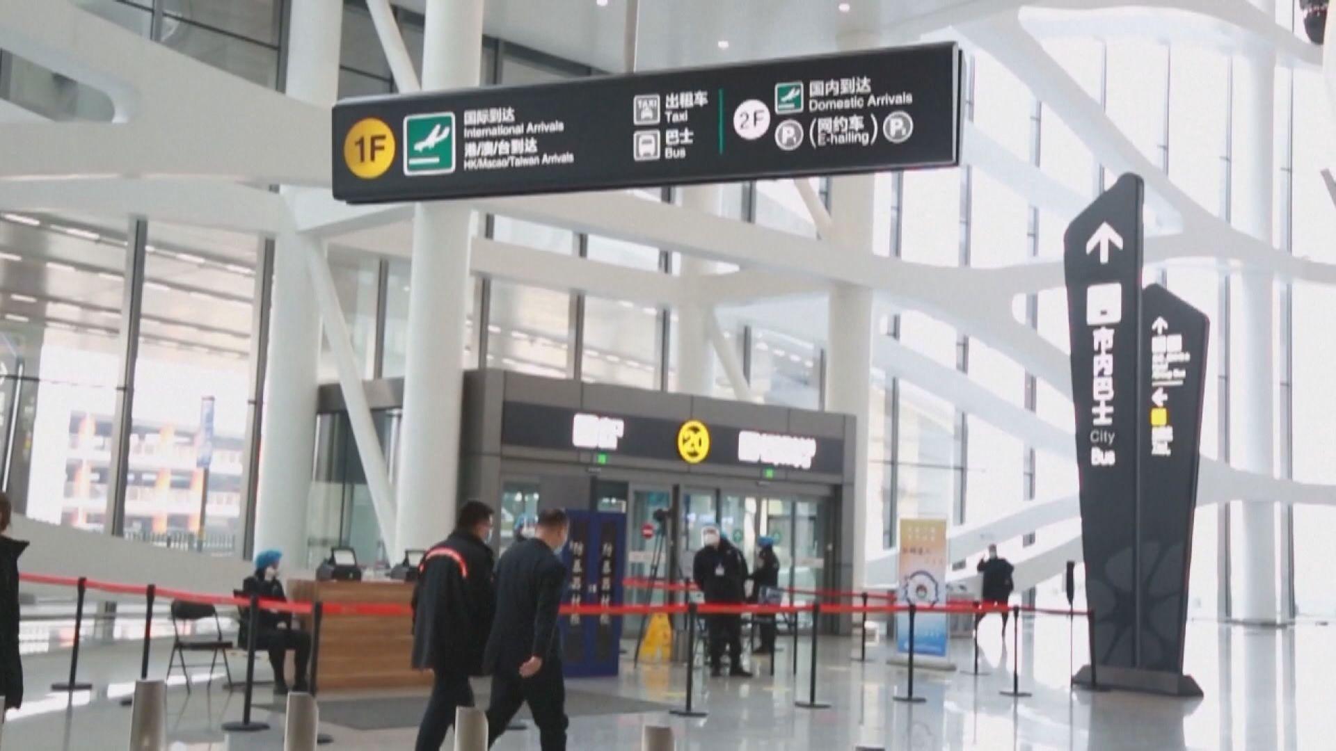 香港直航進京人士本月15日起須提供鼻咽拭子核酸報告