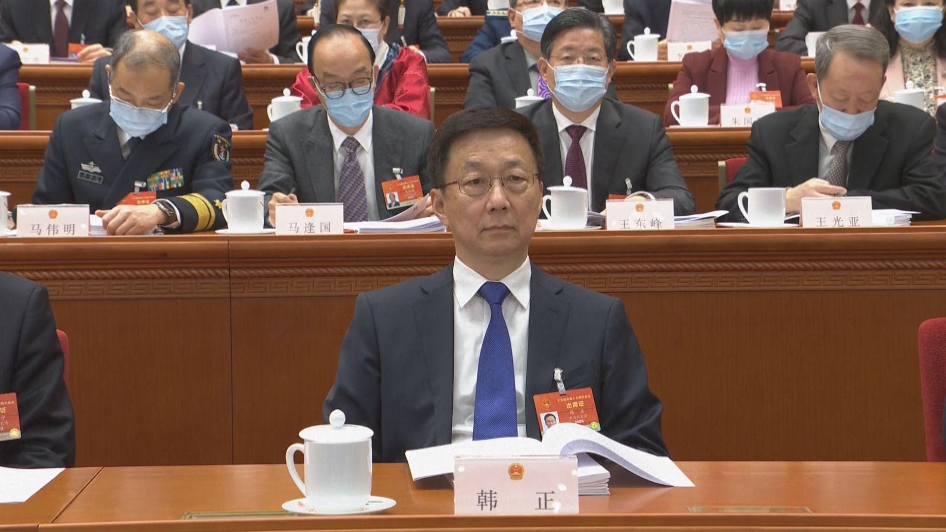 林大輝:韓正要求港區政協支持港府做好抗疫工作