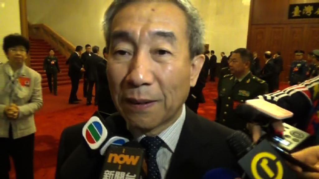 李飛:國歌法追溯期視乎人大常委決定