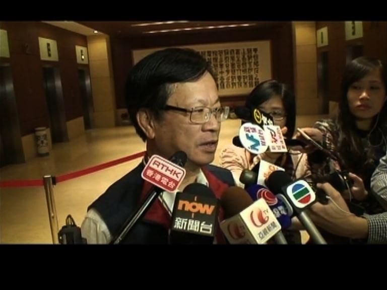 鄭耀棠質疑政改全民投票無實際作用