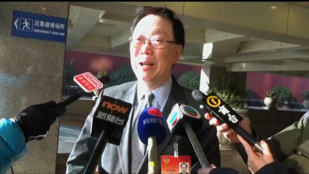 劉漢銓:梁振英若獲推選政協副主席是好事