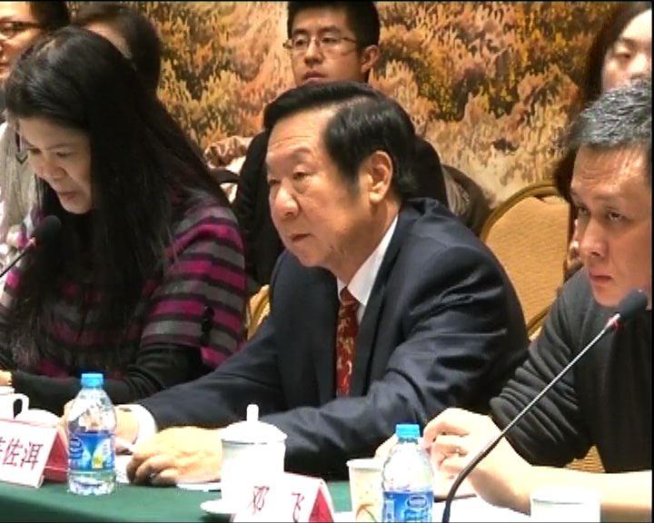 陳佐洱:佔中反映本港青年及教育出問題