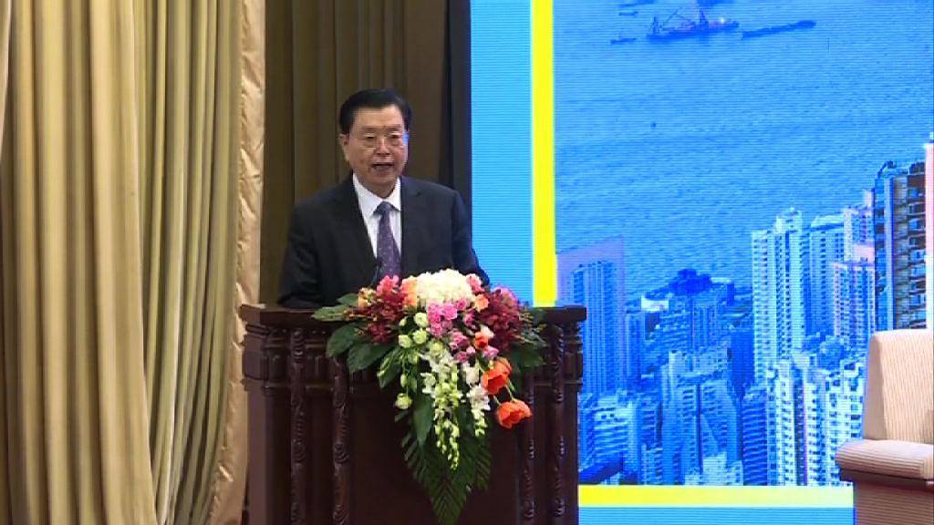張德江:香港是引進外資的「領頭羊」