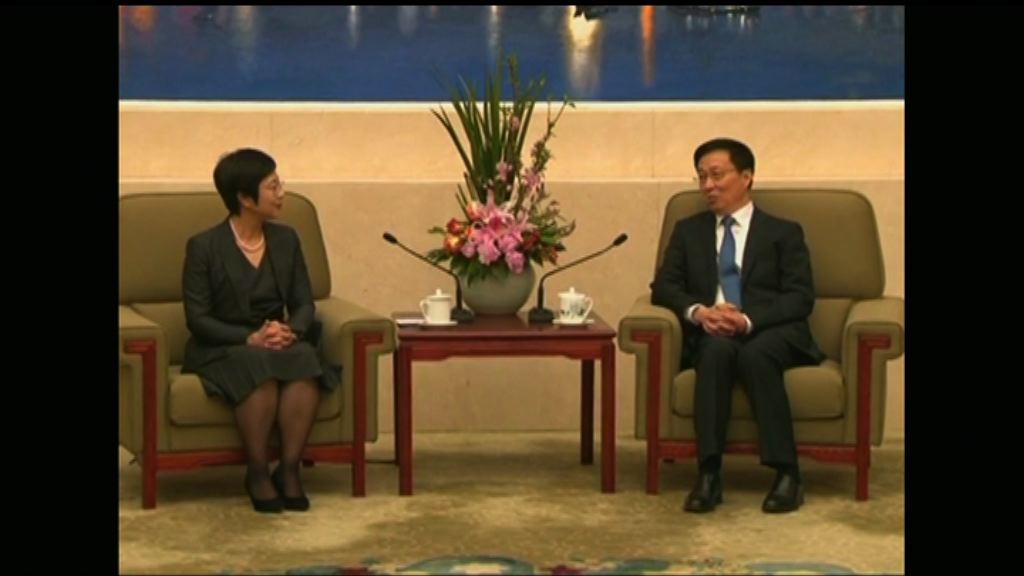 韓正:澳門回歸後中央全面管治權得到有效落實