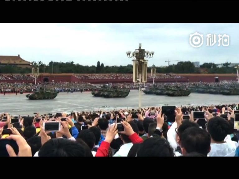 北京閱兵預演 軍備戰機歷來之最