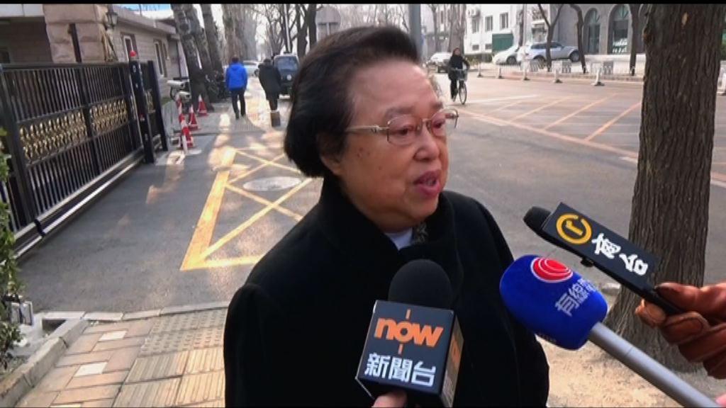 譚惠珠:將有文件說明基本法第18條不適用