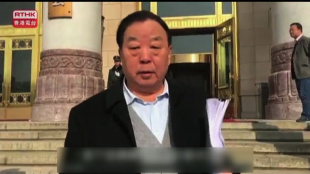 喬曉陽稱不清楚議程上有否釋法