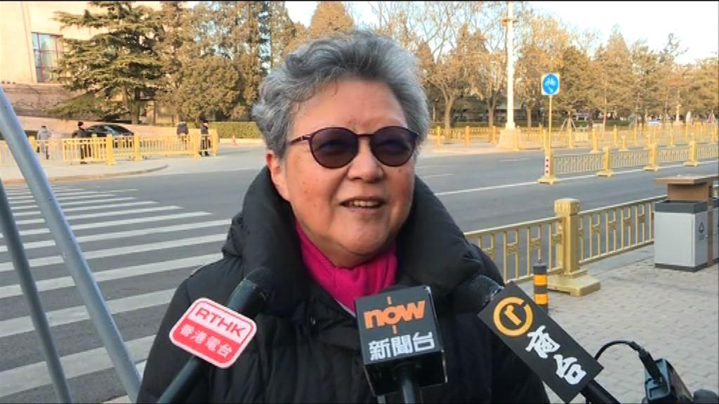 范徐麗泰:不知是否曾討論參選人資格