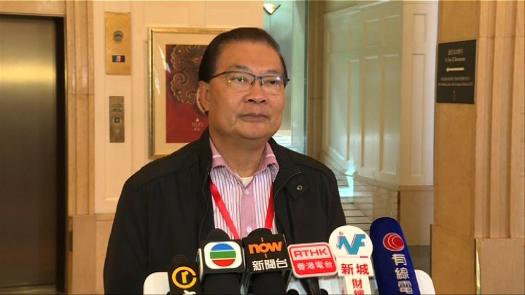 譚耀宗:國歌法要求學校必須教國歌很合理