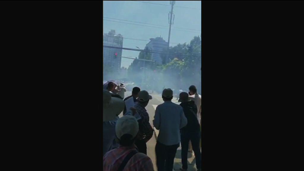 北京美國駐華大使館疑發生爆炸 職員指暫無公布