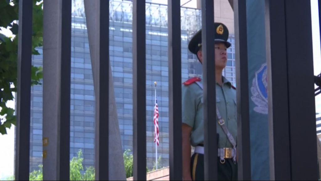 美駐華大使館外爆炸 公安指內蒙男點爆竹裝置