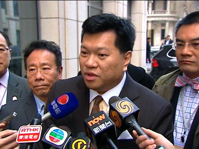 馬恩國:李飛對反港獨法持高評價