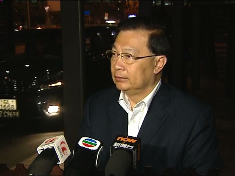 譚耀宗:王光亞肯定港府處理佔領手法
