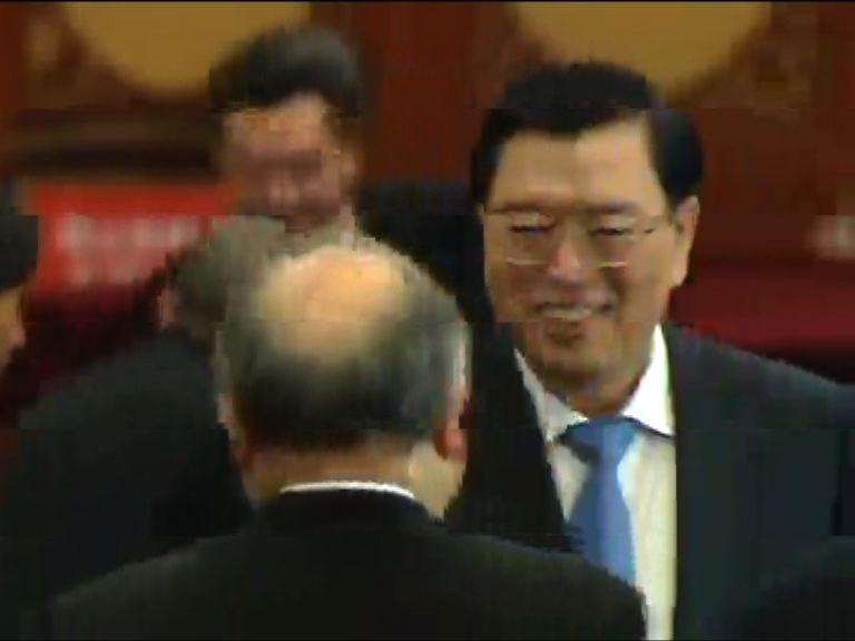 張德江:佔領行動是搗亂香港的陰謀