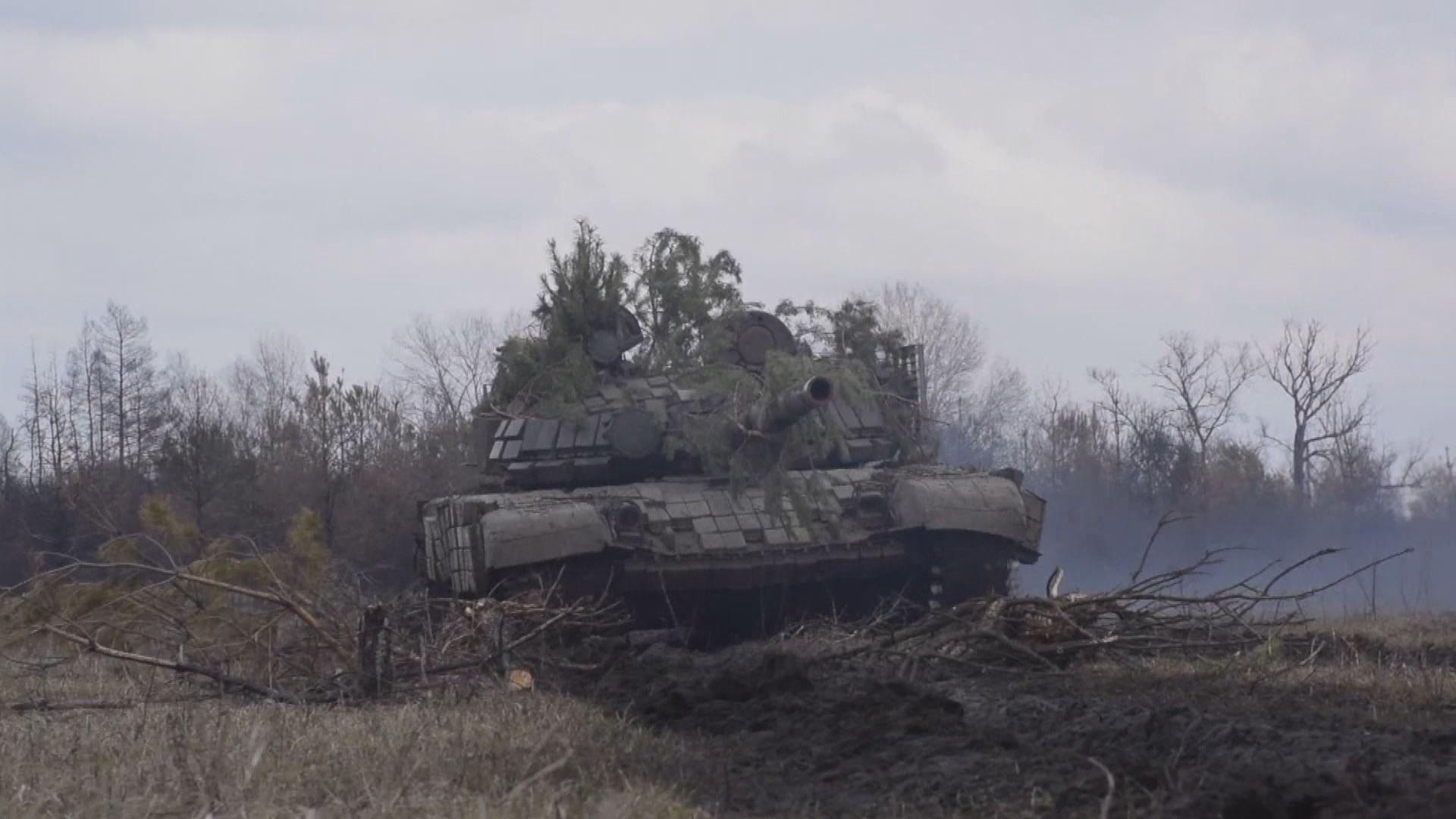 俄羅斯早前向烏克蘭邊境增兵 分析指是美俄的博奕