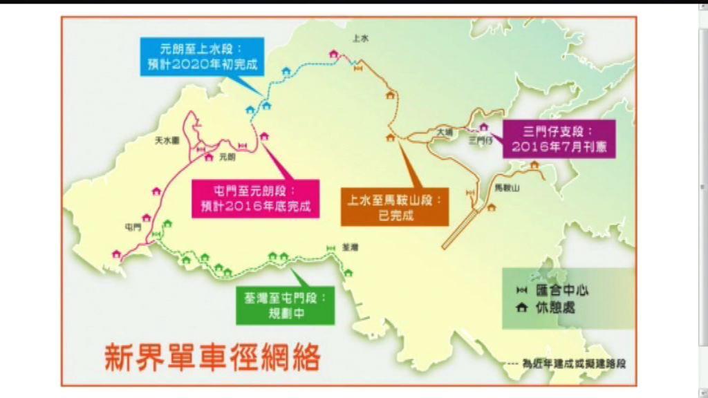陳茂波發表網誌談單車徑發展