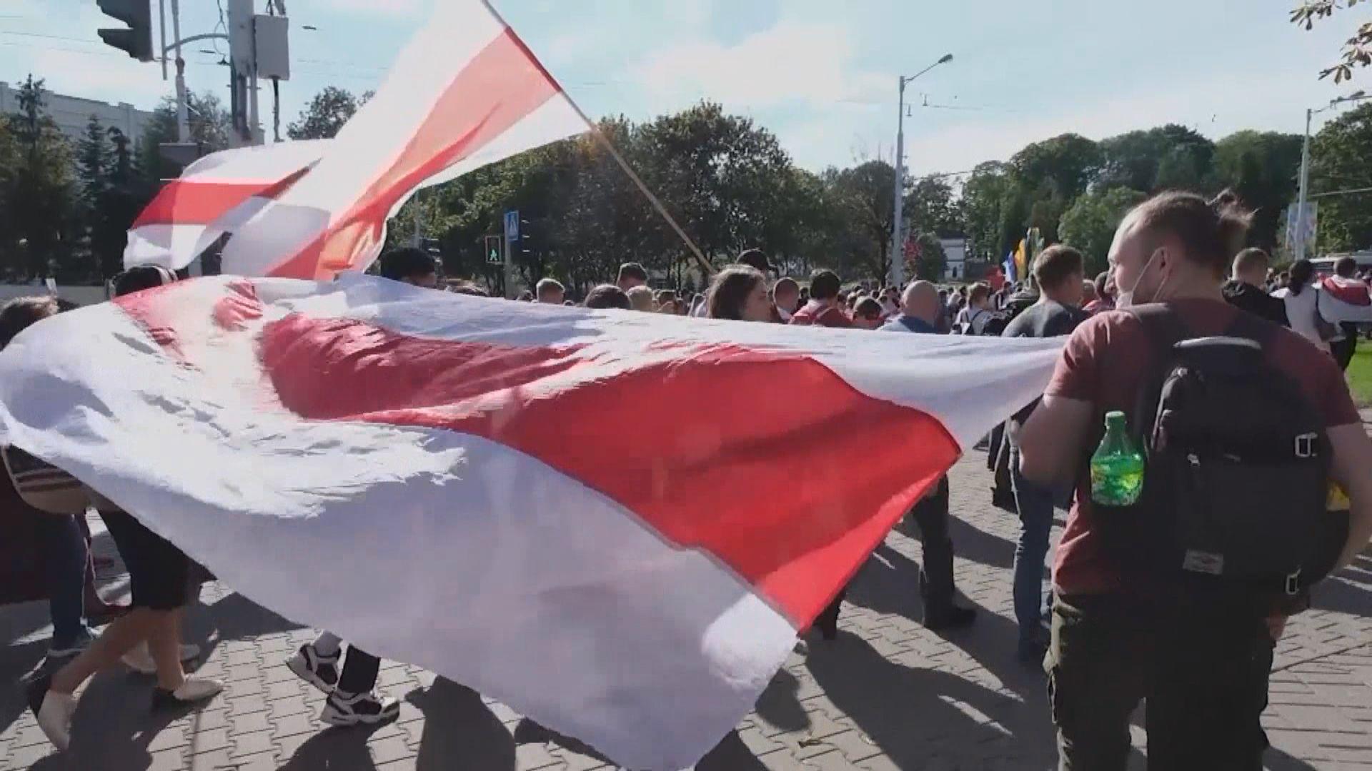 白俄羅斯連續第五周有反政府示威