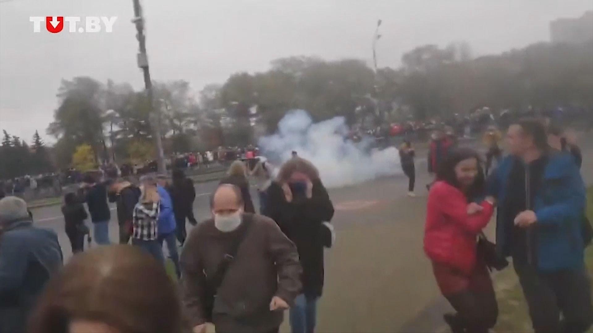 白俄羅斯反政府示威持續數百人被捕