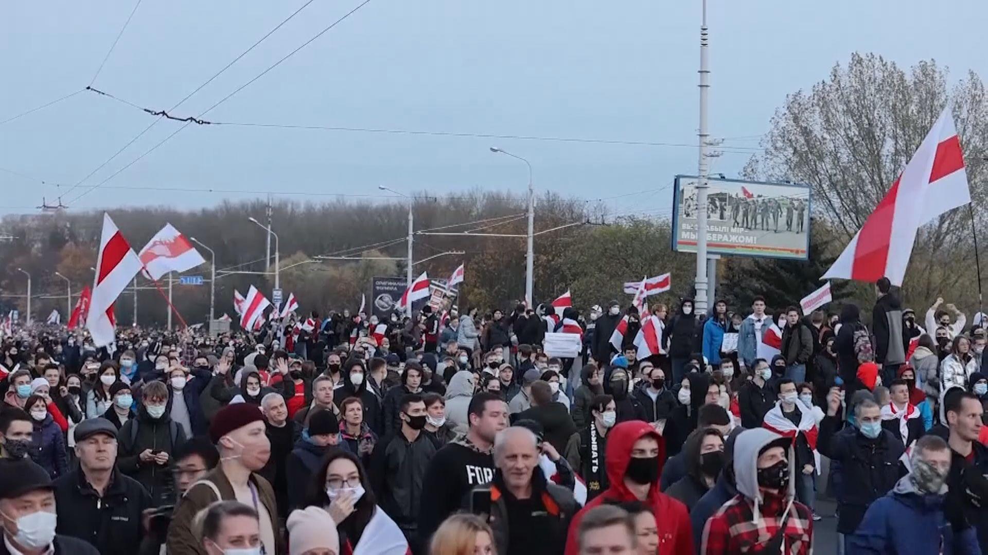 白俄羅斯反對派領袖揚言發動全國大罷工