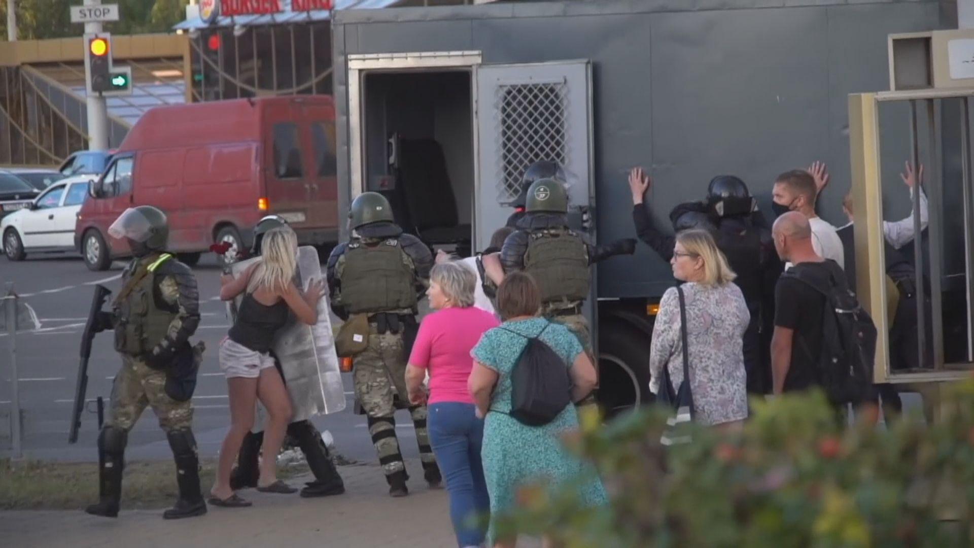 白俄羅斯反對派領袖籲軍人倒戈 過去行為可既往不究