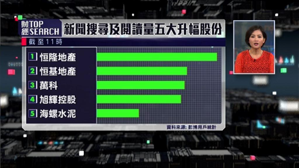 【財經TOP SEARCH】地產股有冇運行要睇林鄭?