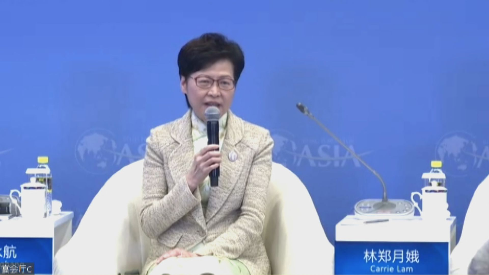 林鄭月娥:有西方國家對中國人不友善 將吸引人才到大灣區