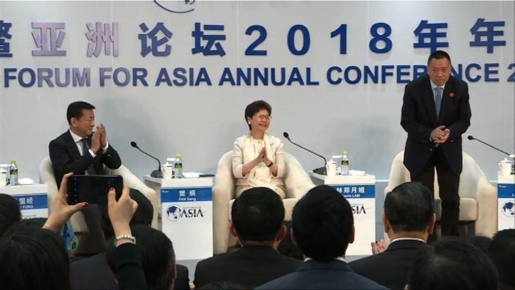 林鄭月娥:粵港澳正籌備加強推廣大灣區