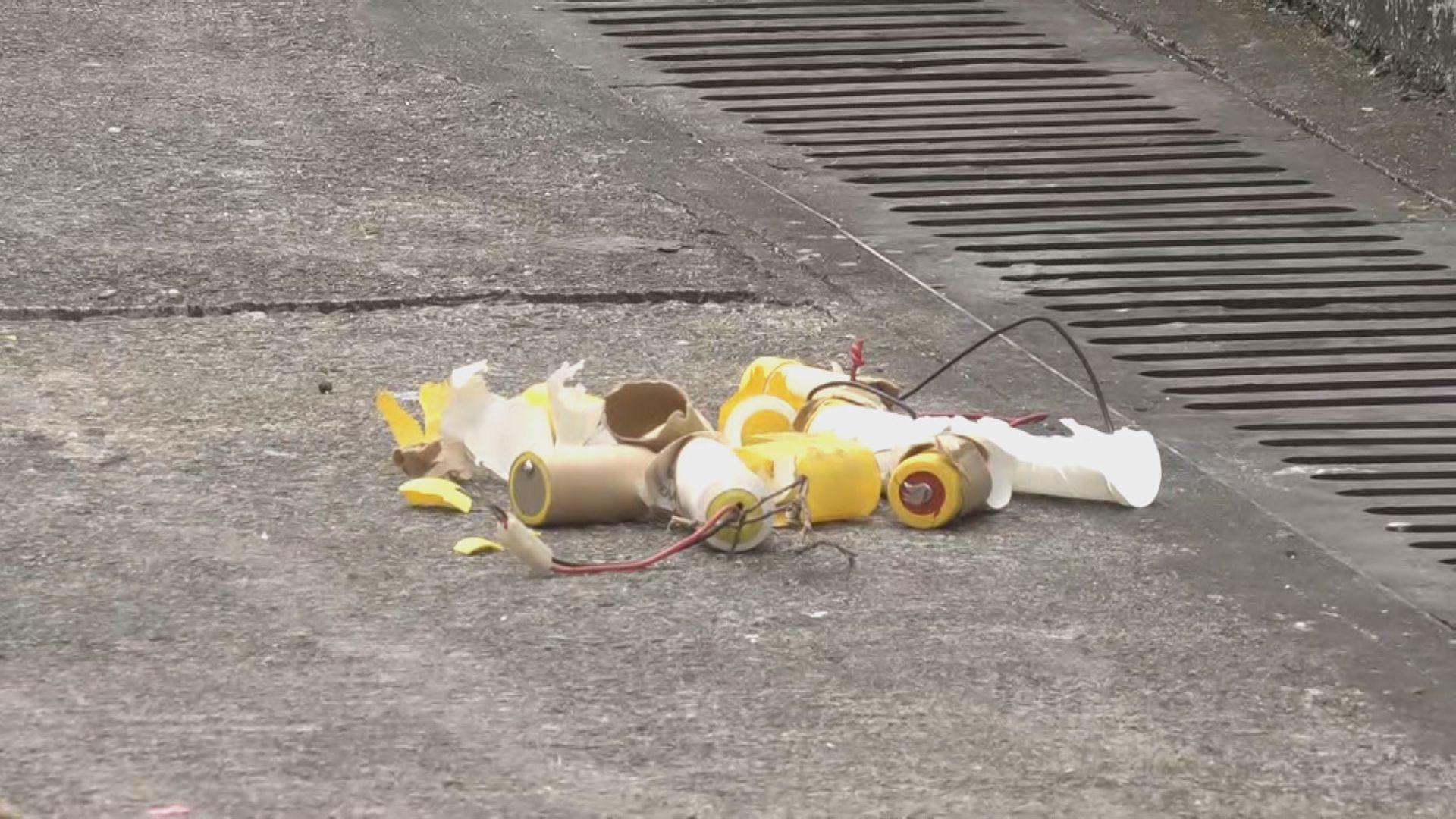 警方指青衣懷疑爆炸品沒有炸藥成分