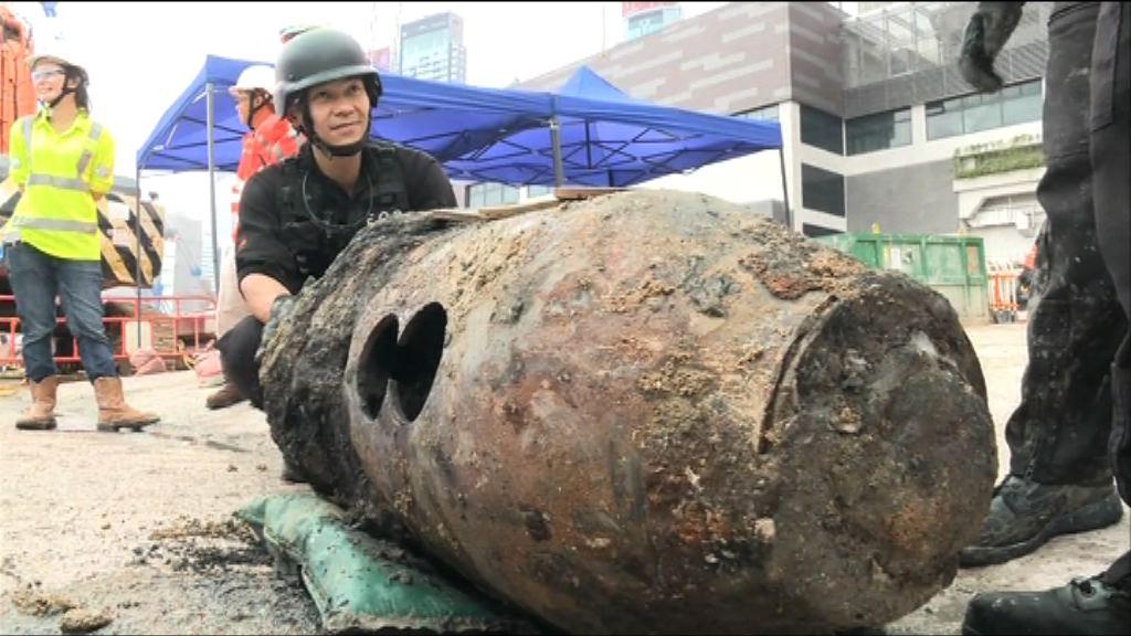 戰時炸彈已拆除 灣仔北道路中午後解封