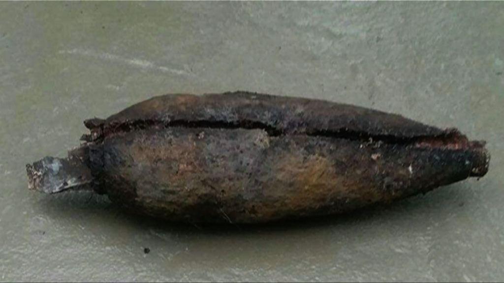 大潭郊遊徑發現疑似炮彈 警方即場引爆