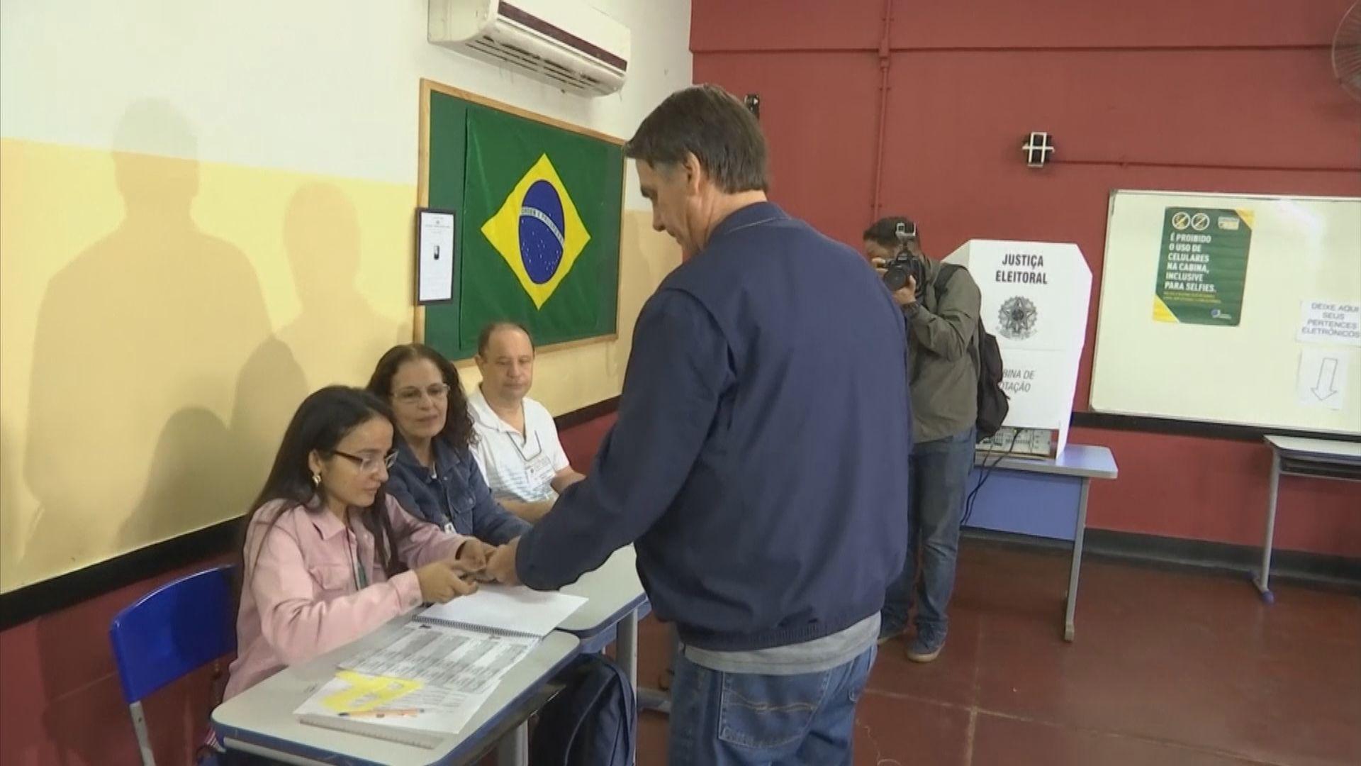巴西大選右翼候選人表現突出