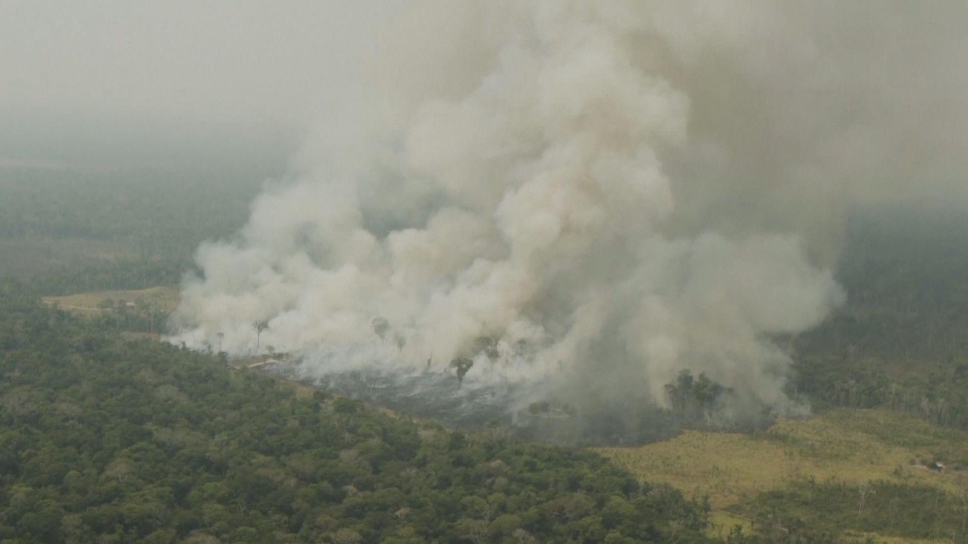 雨林大火七國集團願助巴西應對