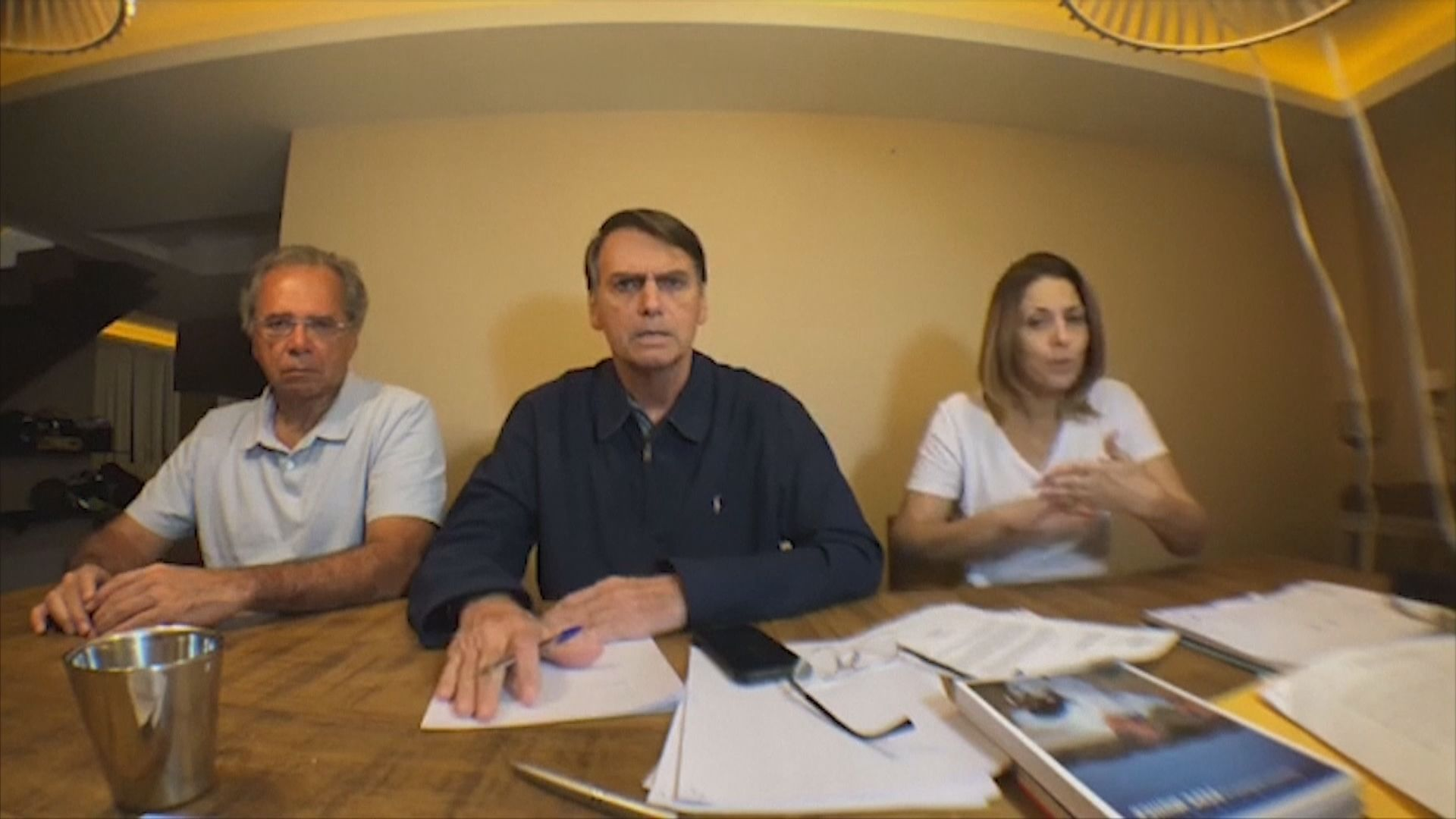 博爾索納羅倡反貪吸引選民支持