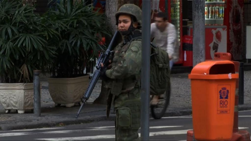 巴西警方奧運前反恐 拘一人