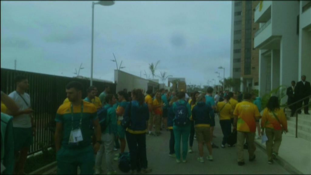 奧運選手村澳洲宿舍火警無人傷