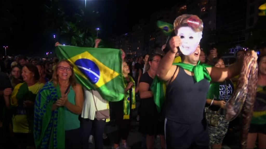 巴西反政府示威持續
