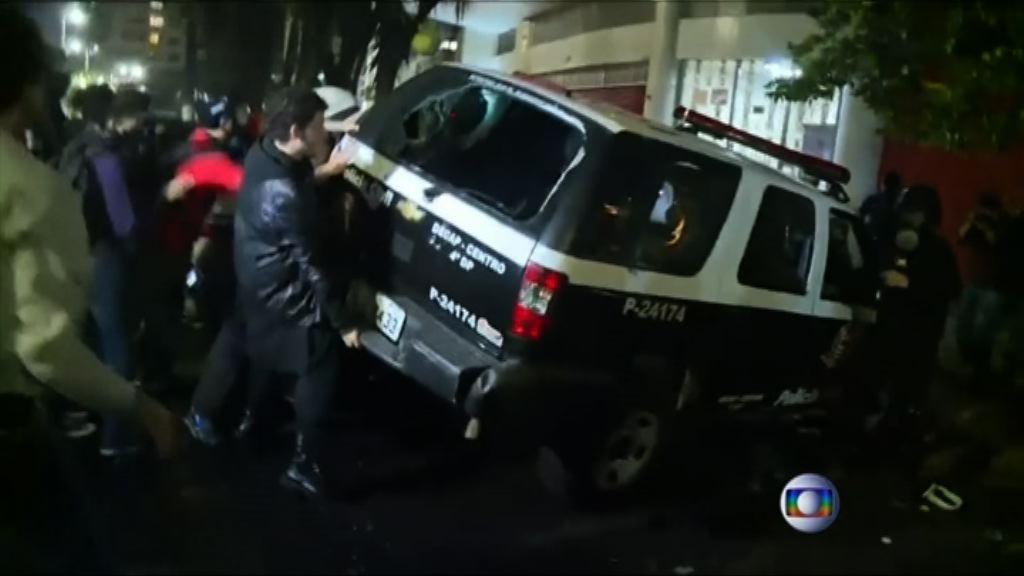 巴西民眾示威反對罷免羅塞夫