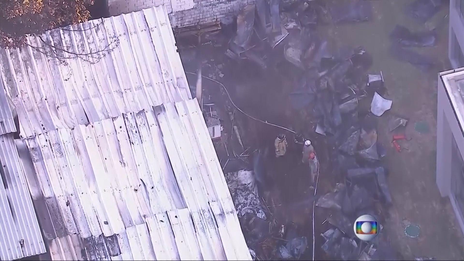 巴西法林明高訓練設施大火至少10死