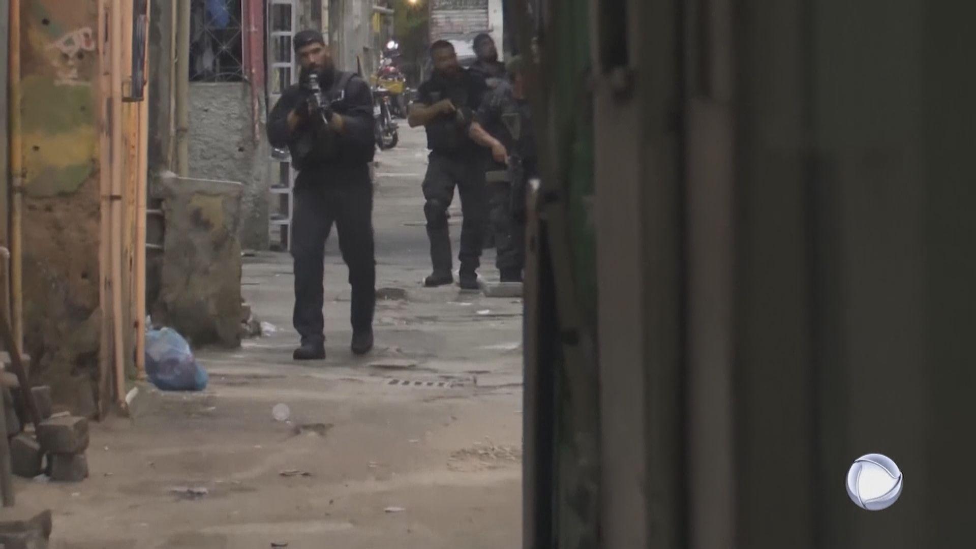 巴西里約警方與黑幫槍戰 至少25人死亡包括一警