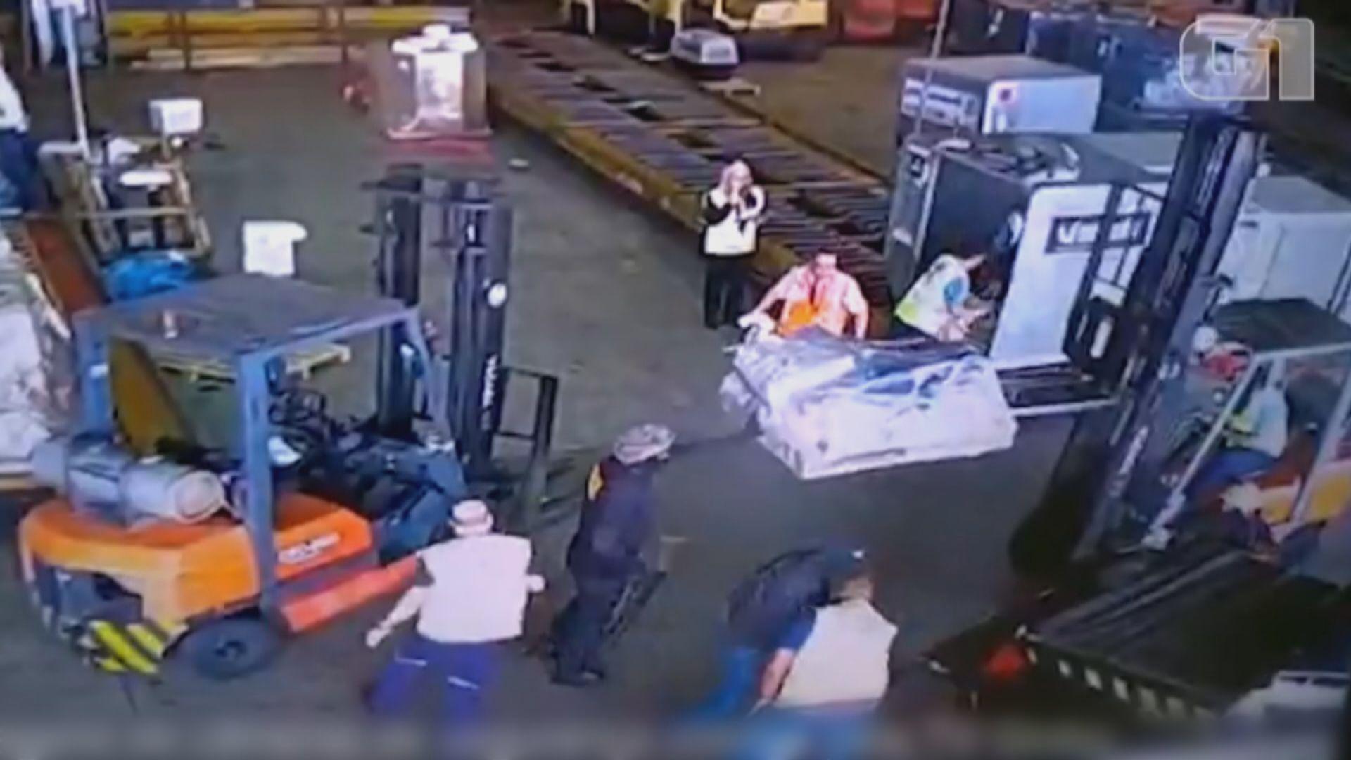 巴西機場劫案總值四千萬美元黃金被盜
