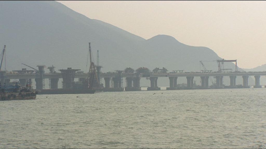 港珠澳大橋工程料年底完工