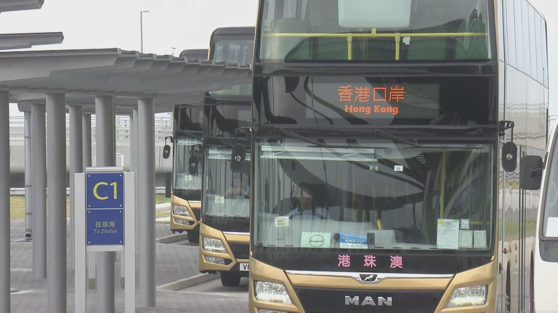 巴士公司準備不及 大橋通車初期要減少班次