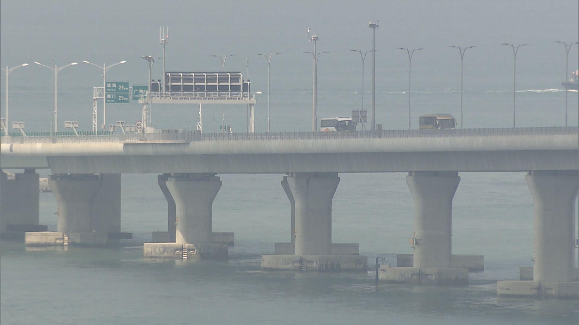 港府擬下周起提高私家車使用港珠澳大橋配額