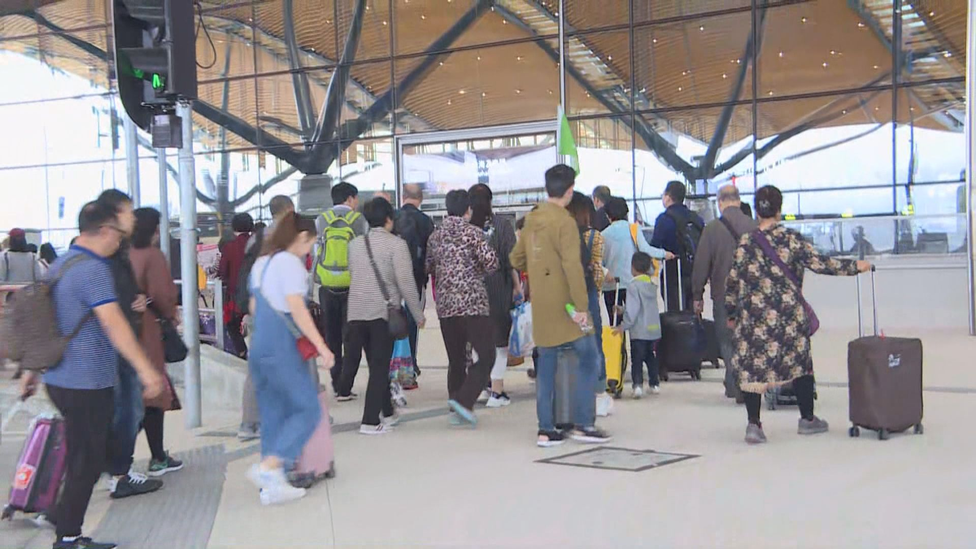 截至中午24573人次經港珠澳大橋口岸出入境